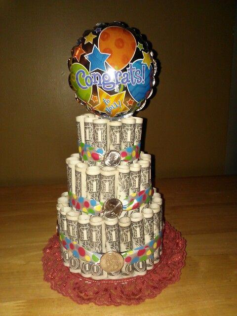 Graduation Money Cake Unique Gifts