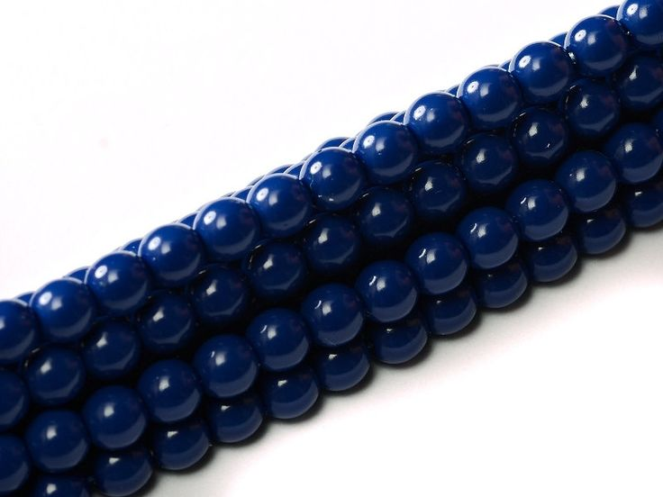 20 pcs  2mm round beads. 3mm round beads. 4mm round beads. Glass Pearl Royal Blue, Baltic Blue, Light Plum Czech round Glass Bead by Vladbeads on Etsy