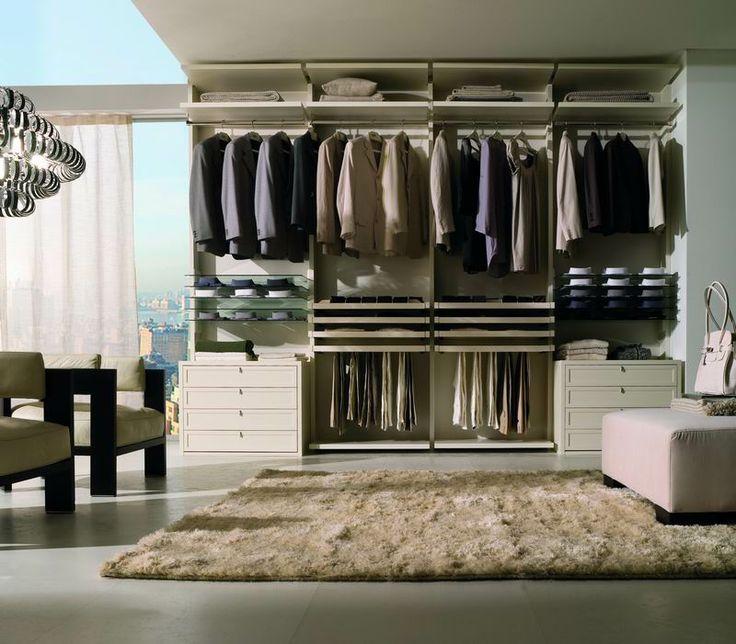 LA FALEGNAMI - Walk in closet - Classic white lacquer