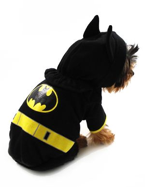 Small Dog Costumes | Batman Dog Costume and Small Halloween Dog Costumes