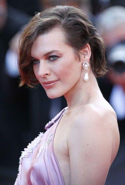 Milla Jovovich Hair