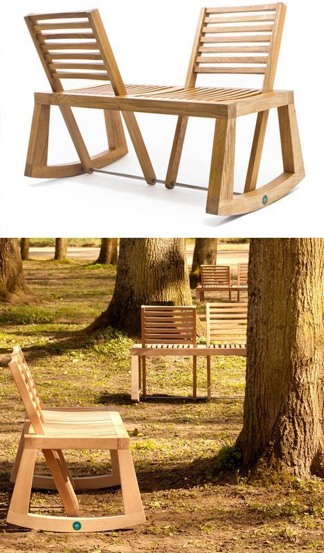 DIY Woodworking Ideas These make total sense! And they're Different, too! -- adjustable seat bench...