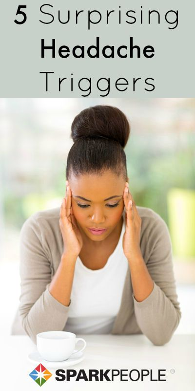 Avoid these 5 habits to kick your headaches for good! | via @SparkPeople #health #wellness #headaches