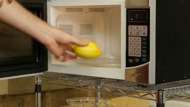 Mikra citron för mer juice