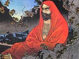 Bodhidharma (sánscrito: बोधिधमृ; chino: 菩提達摩, pinyin: Pútídámó o simplemente Dámó; Wade-Giles Tamo; japonés 達磨 o ダルマ, Daruma) fue un monje de origen hindú, el vigésimo octavo patriarca del budismo y el primer patriarca legendario y fundador de la forma de budismo Zen o Chán. Proveniente del Sur de la India, llegó a China bajo el reino del emperador Wu del Liang (502-549 d.C).