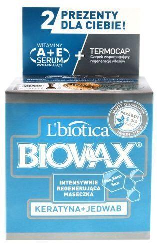 BIOVAX Intensely Regenerating Mask Keratin Silk 250ml