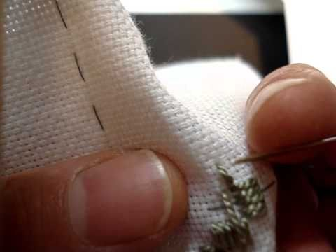 Hardanger Embroidery, Lesson 3, Kloster Blocks - YouTube