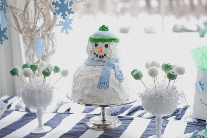 BOY Winter ONE-derland birthday theme <3
