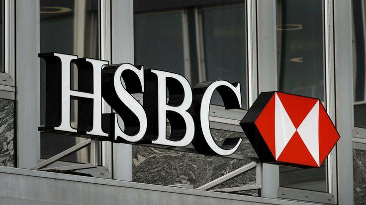 Brands, HSBC, HSBC Backgrounds, HSBC Logo, Financial Brands, Brand HSBC Logo