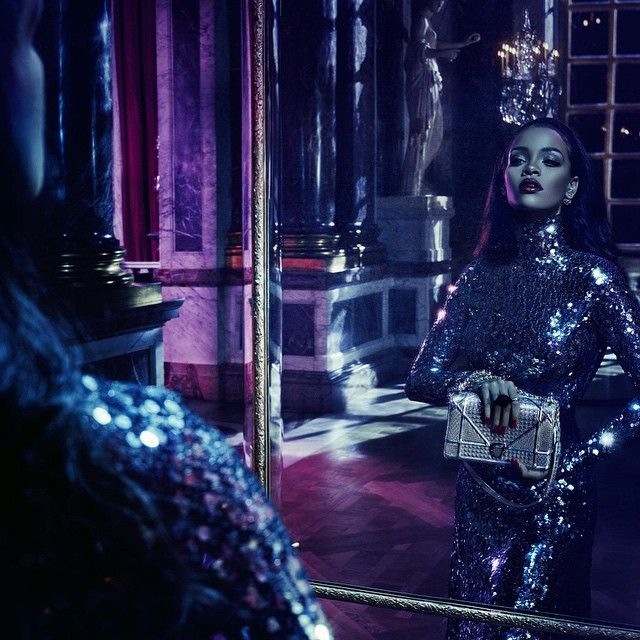 Set in Versailles starring Rihanna our new #secretgarden4 coming soon by @stevenkleinstudio @thestylecouncilparis @robertlussier @melzy917