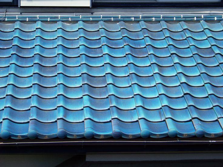 Beautiful roof tiles.Koganei.
