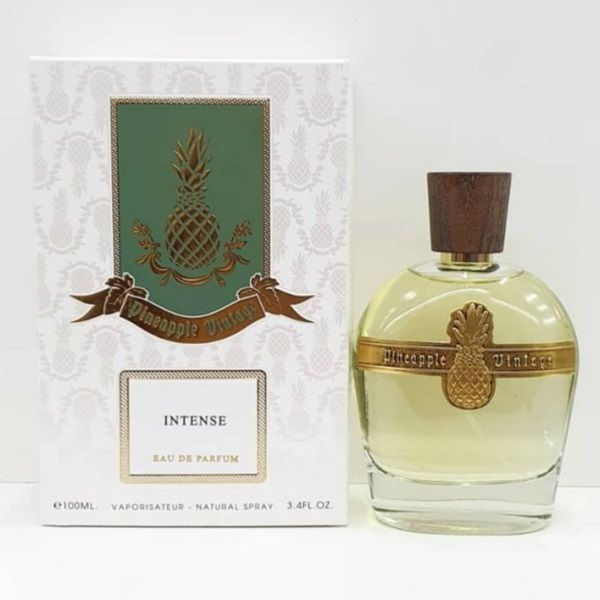 Pineapple Vintage Intense By Parfums Vintage For Men And Women Pineapple Vintage Perfume Perfume And Cologne