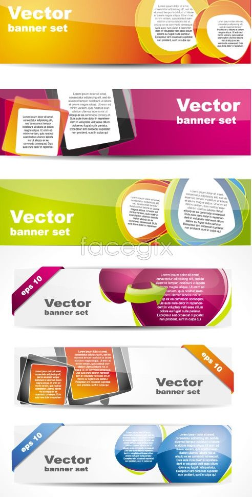 Creative design Banner Vector