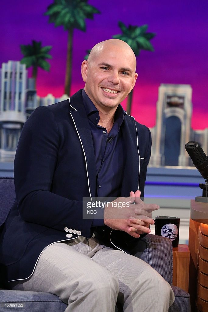 Musical artist <a gi-track='captionPersonalityLinkClicked' href=/galleries/search?phrase=Pitbull+-+Rapper&family=editorial&specificpeople=206389 ng-click='$event.stopPropagation()'>Pitbull</a> on June 19, 2014 --