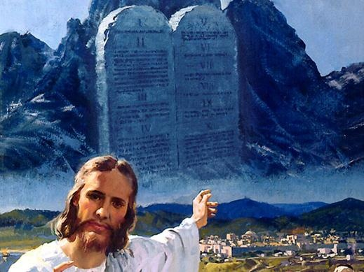 ten commandments and their relation to the law The ten commandments  persons in the past is irrelevant unless they sustained the same relation to the law  is truth, to which all must agree that their.