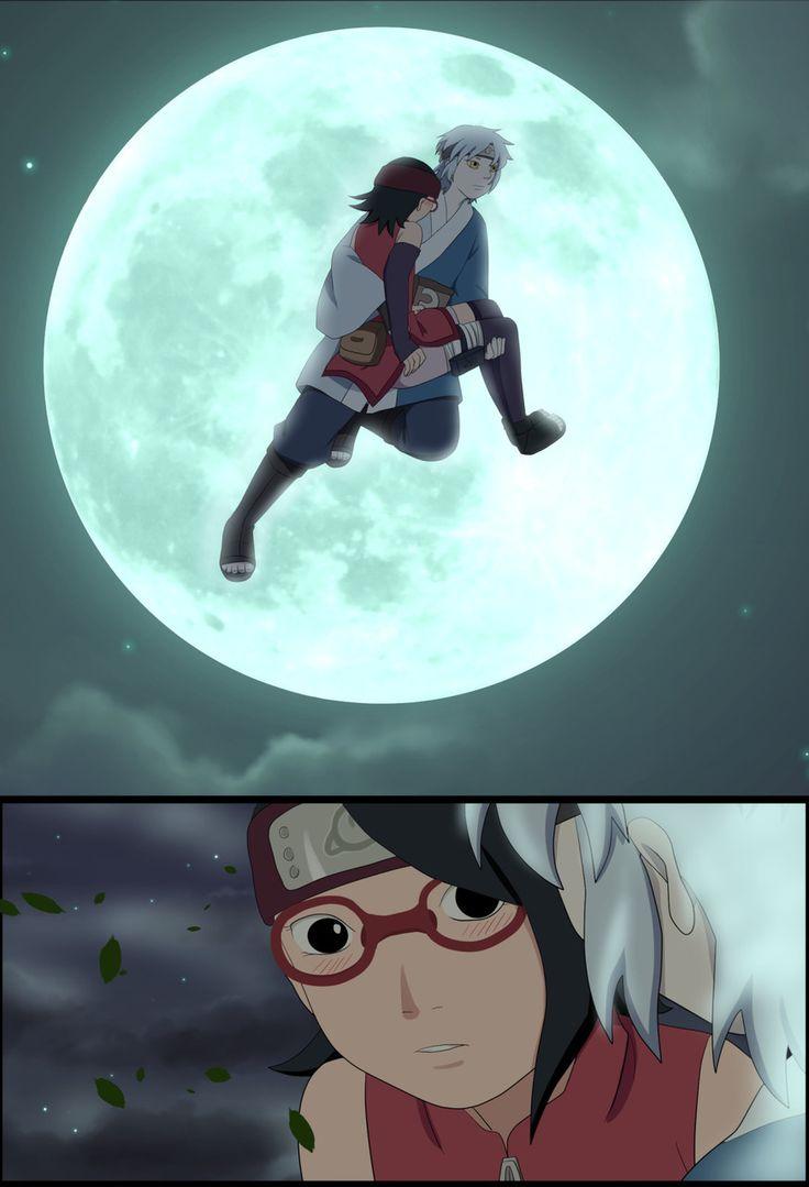 Sarada & Mitsuki 〖 Naruto Sarada Uchiha Mitsuki 〗 Naruto