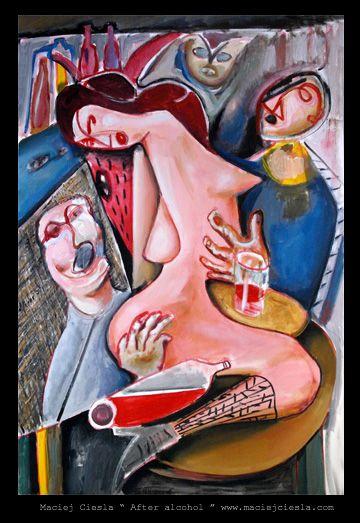 """Maciej Cieśla """" After alcohol """" oil painting Polish artist, painter. #abstract #art #painter #painting #modernart #modern #artist #ciesla #maciejcieśla #artwork #expressive #colour #color #colorfull #amazing #goodart #oilpainting #painted Malarstwo Wrocław. Aukcje młodej sztuki. Polska młoda sztuka. Obrazy na sprzedaż. Galeria Wrocław. Sztuka współczesna, malarstwo współczesne. Galeria malarstwa. Malarstwo. Modern art for sale. Contemporary art. European artist."""
