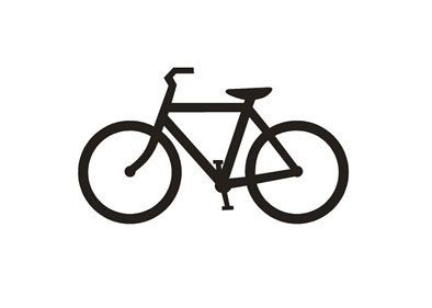 Bicycle rubber stamp by terbearco on Etsy, $12.99