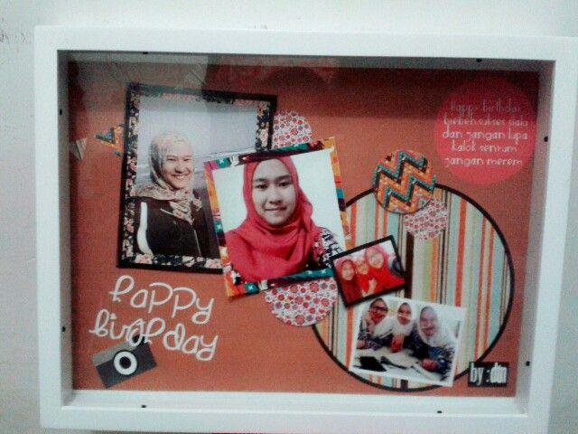 Happy birthday to my best friend,pop up frame to my be loved friend