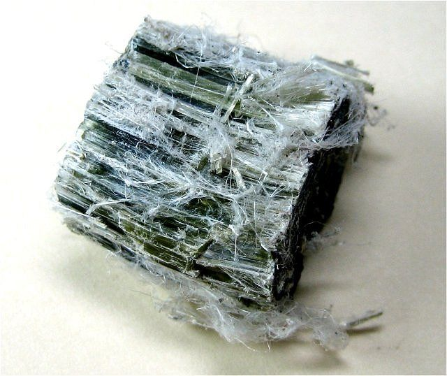 Asbestos mineral. Cool mineral but as we all know, dangerous.