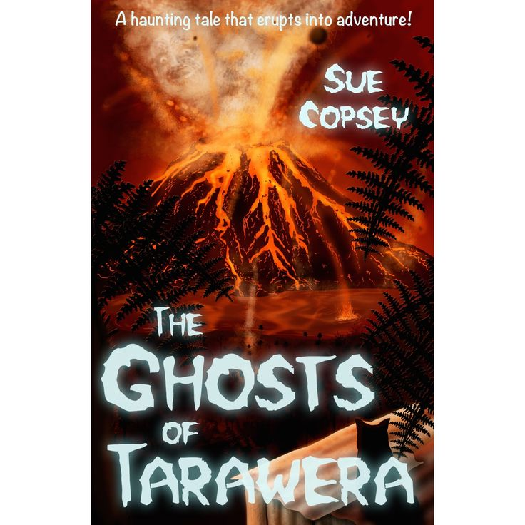 On holiday near Rotorua, Joe and Eddie are fascinated by the area's bubbling mud pools and boiling geysers. But Joe's fascination turns to unease when strange sightings on the lake and dark rumblings from the Earth hint that the volcano is reawakening. See if it is available: http://www.library.cbhs.school.nz/oliver/libraryHome.do