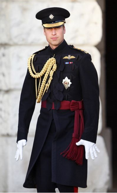 The Duke of Cambridge at the Household Division's Beating Retreat on Horse Guards Parade on June 12th, 2014.