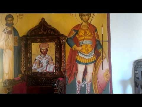 Church in Rhodos,die Kirche in Rhodos,церковь в Гр - YouTube