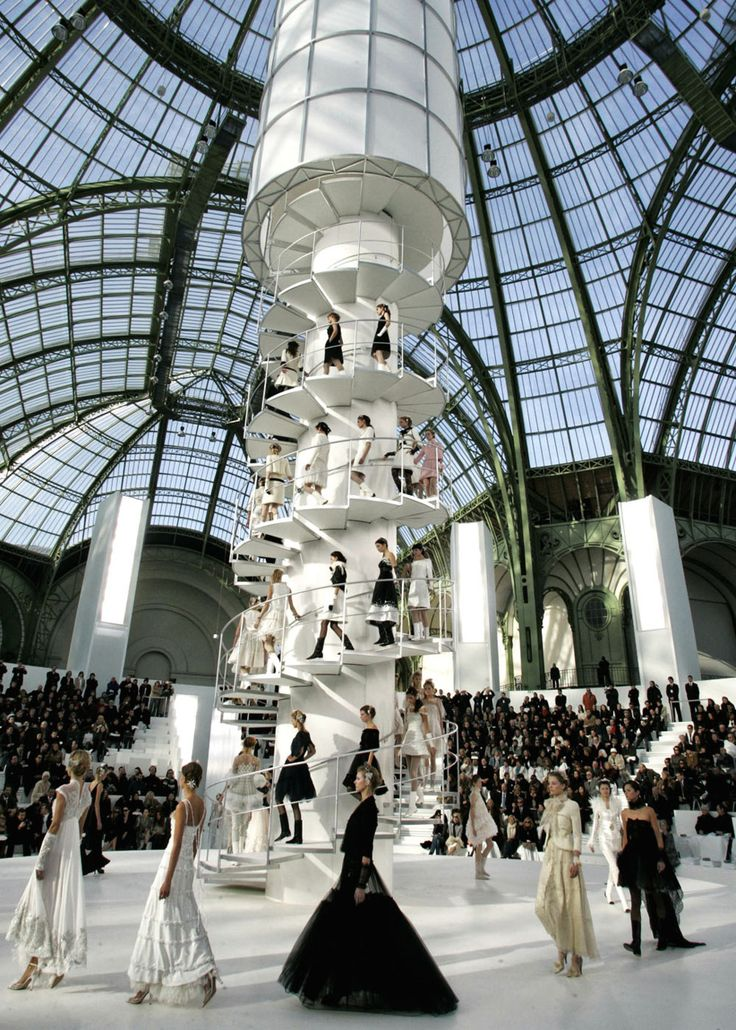 Défilé Chanel au Grand Palais. Paris.