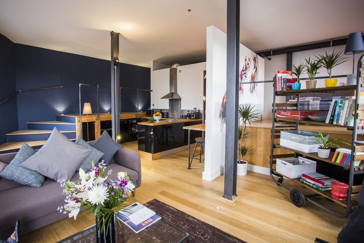 Apartment overview. The River Loft is a vintage industrial style one bedroom apartment with traditional japanese design influences.  https://www.airbnb.co.uk/rooms/6347144