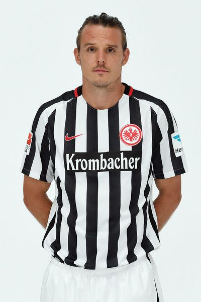 Alexander Meier poses during the Eintracht Frankfurt Team Presentation on July 21, 2016 in Frankfurt am Main, Germany.