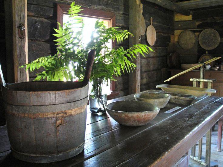 Inside old house in Turkansaari open air museum | Flickr - Photo Sharing!