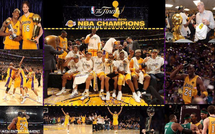 LA Lakers NBA Champions 2010   – NBA