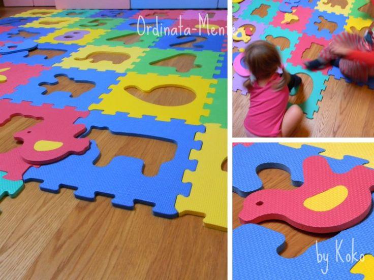 ORDINATA MENTE: Pulire i pavimenti? Un gioco da ragazzi! ...anzi, da bambini!
