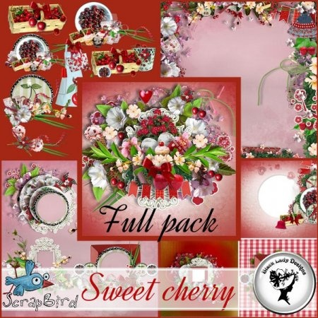 Sweet cherry - Full pack by Black Lady Designs