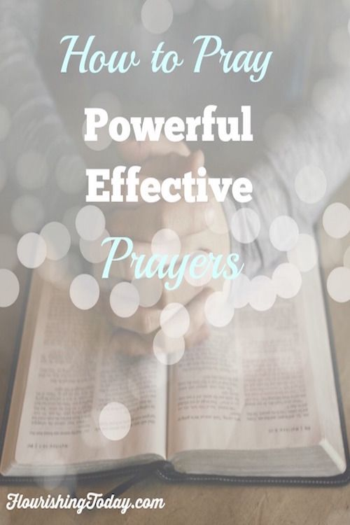 Do you ever feel insecure about praying? Come learn how to pray powerful…