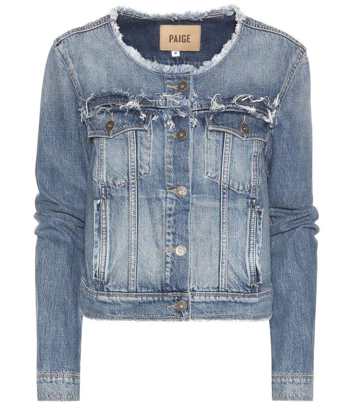 mytheresa.com - Alondra cropped denim jacket - Luxury Fashion for Women /  Designer clothing