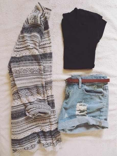 Need to track down some high waisted shorts for sure.