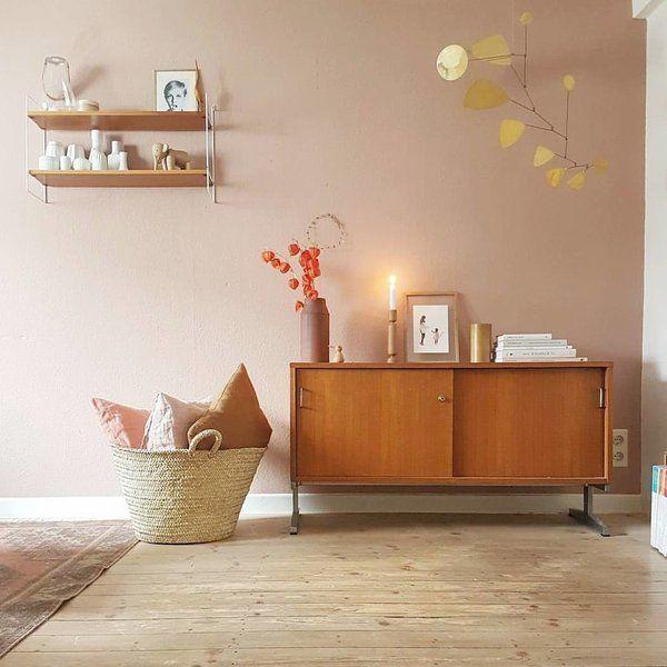 Wohnzimmer Deko Vintage. Wohnzimmer Farben Rosa Weiß Vintage Deko