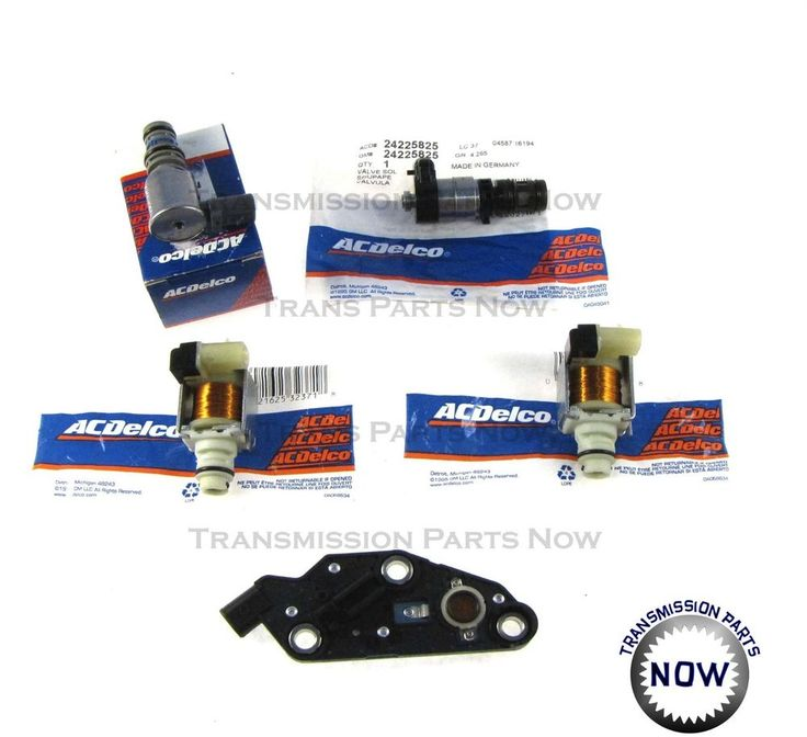 4T65E Transmission Solenoid Kit Set TCC, 2 Shift, EPC, Switch 2003 UP 84420AK #ACDelcoAftermarket