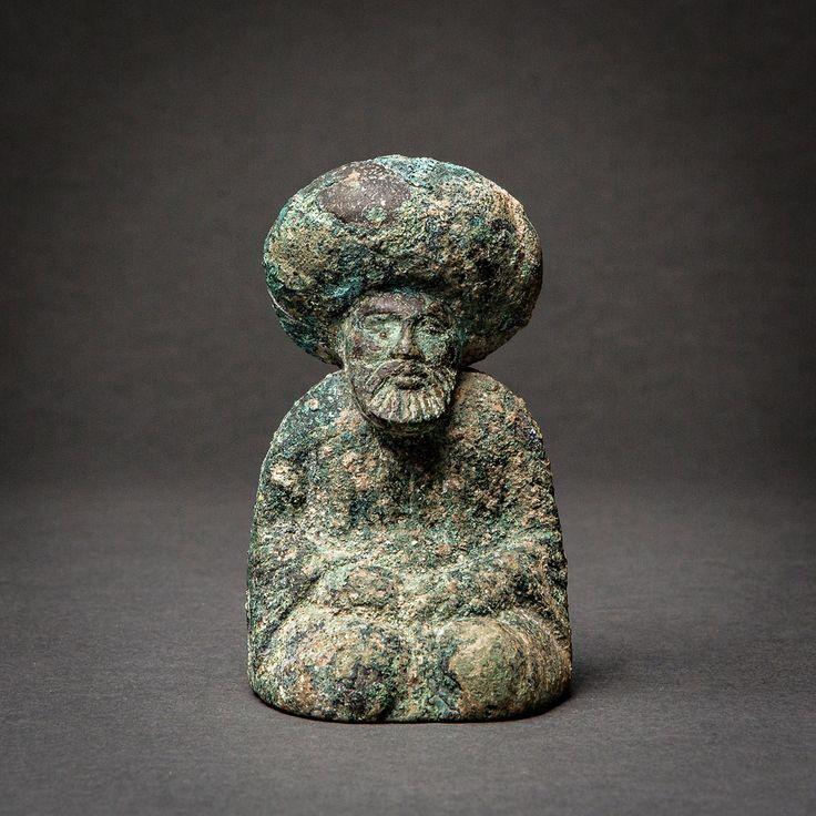 Bronze Chess Piece of the Caliph Harun al-Rashid – Central Asia,   780 AD to 850 AD