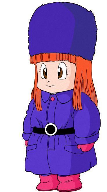 Suno: es una personaje que vive en Aldea Jingle. Suno es de baja estatura, de piel blanca, pelo anaranjado y ojos de color marrón. Suno encuentra a Goku y lo lleva a su casa para que este no muera de hipotermia, dándole ropa abrigada y comida caliente