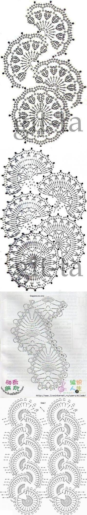 Вязание: ленточное кружево