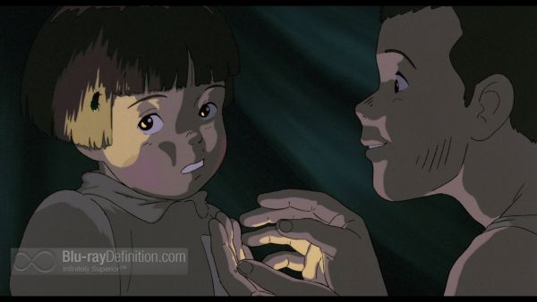 Grave of the Fireflies UK BD Blu-ray Review (screen capture)
