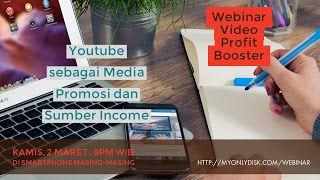 Webinar Video Profit Booster: Cara Login Sign Up Webinar Youtube Profit Booster ...