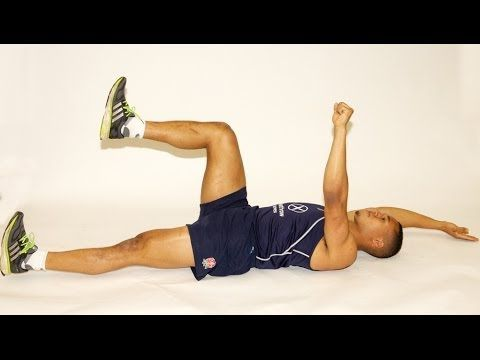 England Sevens - Trunk conditioning workout with Marcus Watson