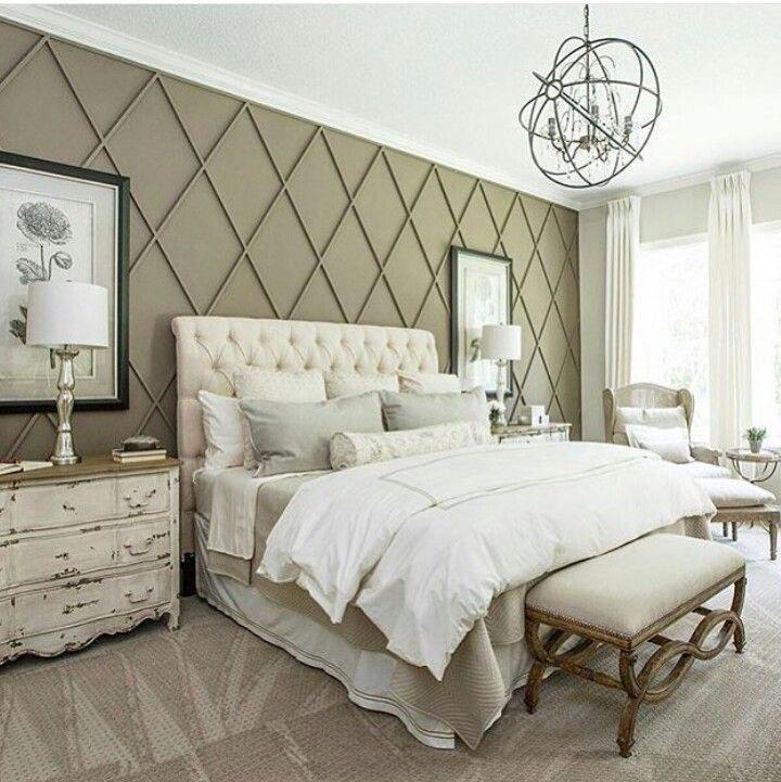 Resultado De Imagen De Fixer Upper Master Bedroom Wall Diamonds Elegant Master Bedroom Remodel Bedroom Home Bedroom