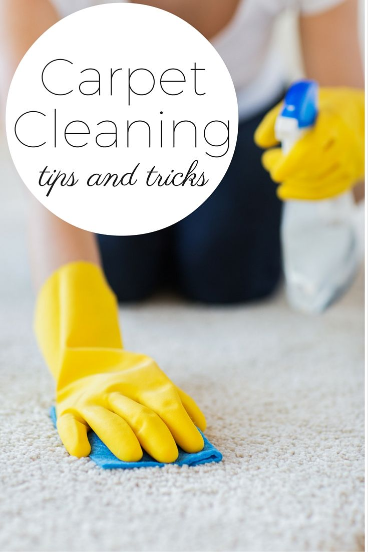 Give these carpet cleaning tips and tricks and try in your home!  Everything from homemade solutions to machine to buy to get the job done!