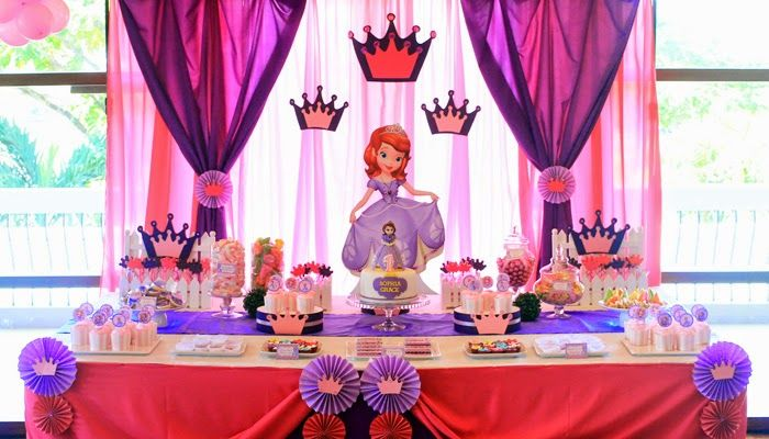 Fiestas infantiles princesa sofia parte 2 - Decoracion cumpleanos princesas ...