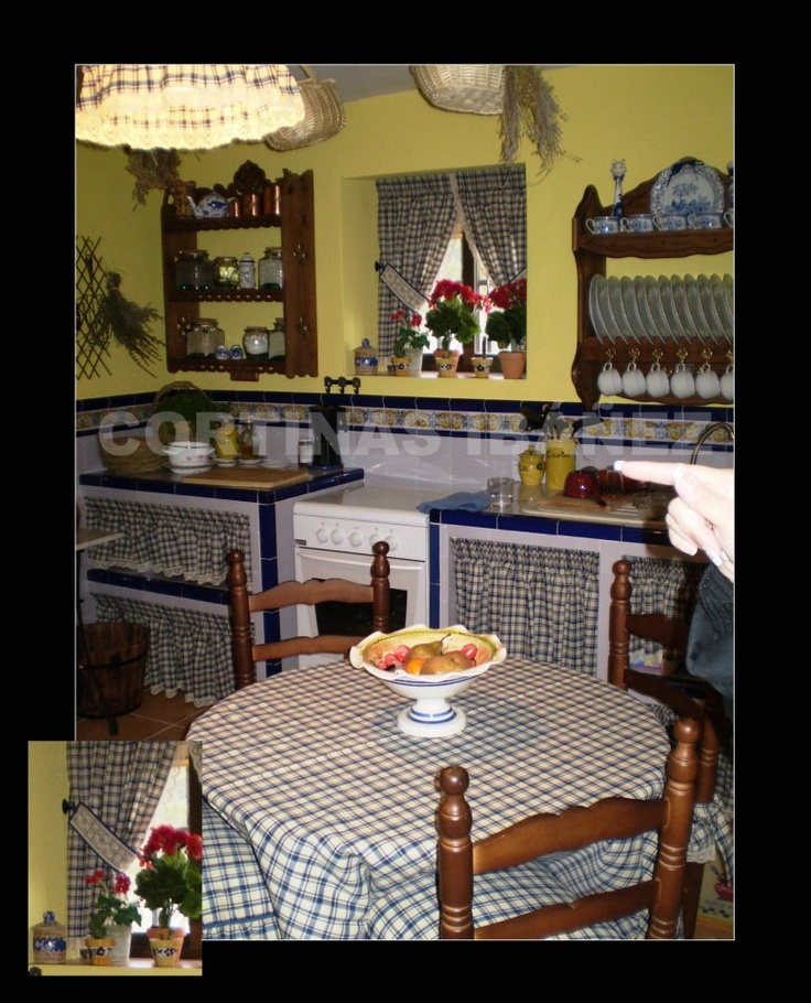 Instalaci n en casa de campo rustica ambiente realizado - Cortinas para casas rusticas ...