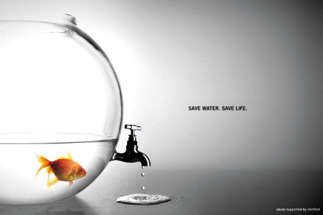 Ben-This advertisement is positive because it shows that you can save lives of not only people but animals as well. The explicit message is that people need to refrain from wasting water. An implicit message could be that not only people but animals benefit from saving water.